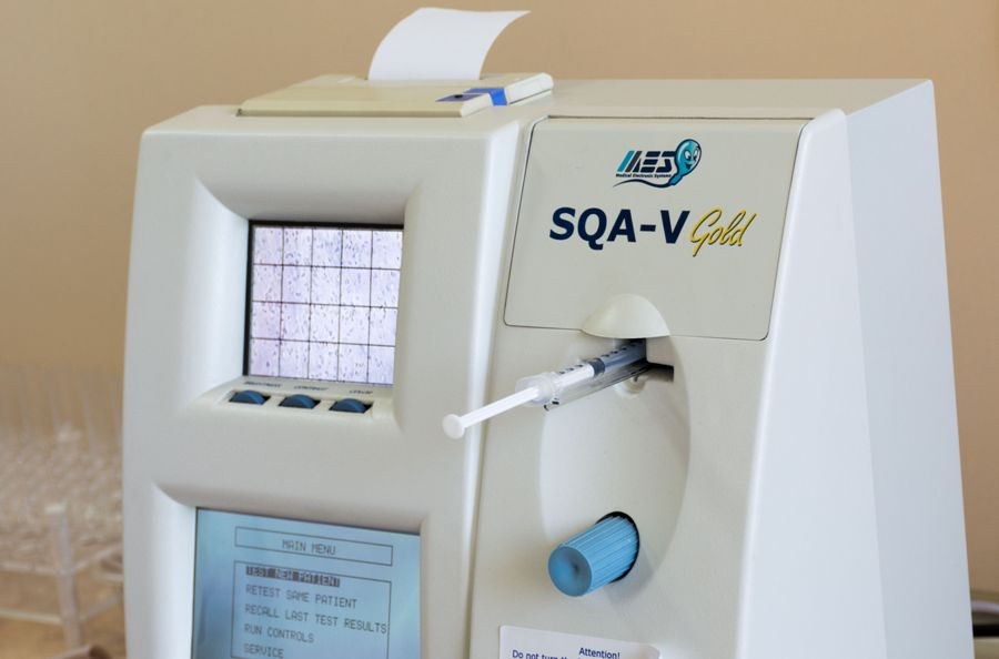 Sqa V Gold Automated Semen Analyzer Medical Electronic