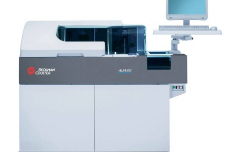 Automatic biochemistry analyzer / 800 tests/h | AU480 / BECKMAN COULTER